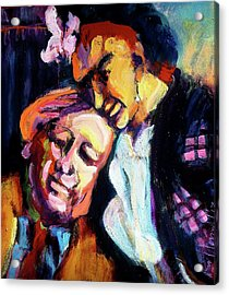 Diego And Frida Acrylic Print