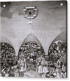 Diego Rivera Acrylic Print
