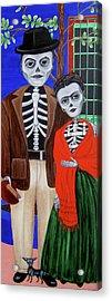 Diego Y Frida Acrylic Print by Evangelina Portillo