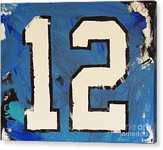 Diehard 12th Man Acrylic Print