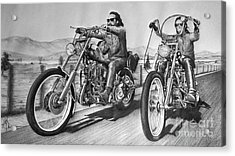 Difficult Riders Acrylic Print