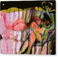 Diffrerence Acrylic Print by Noredin Morgan