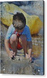 Digging To China 2 Acrylic Print