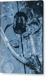Digital Cyber Attack Acrylic Print by Jorgo Photography - Wall Art Gallery
