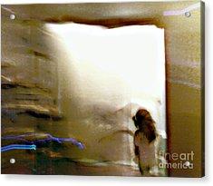 Digital Doorway Acrylic Print by Balanced Art