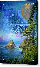 Digital Dream Acrylic Print
