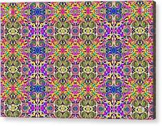 Digital Future Acrylic Print by Guillermo Mason