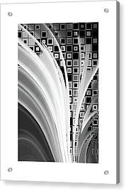 Digital Revolution Bw Acrylic Print by Steve K