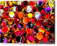 Digital2012b Acrylic Print by Loxi Sibley