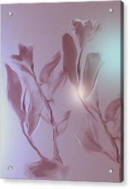 Digitized 2 Acrylic Print by John Krakora