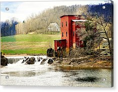 Dillard Mill 4 Acrylic Print
