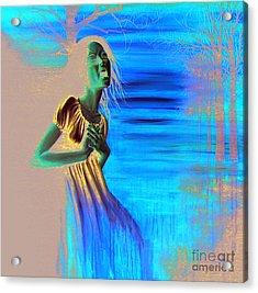 Diluvio De Lagrimas Acrylic Print by Ryan Swallow