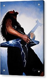 Dimebag Is Gd Electric Acrylic Print
