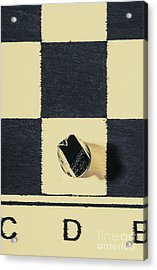 Dimensional Chess Acrylic Print
