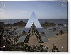 Dimensional Rift. Acrylic Print by Ismael Marte Ramos