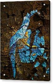 Diminishing Poppy Acrylic Print by Svetlana Sewell