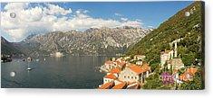 Dinaric Alps And Kotor Bay Acrylic Print by Matt Tilghman