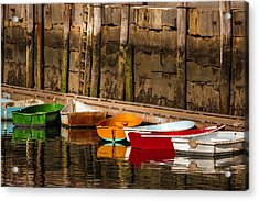 Dinghy Heaven Acrylic Print