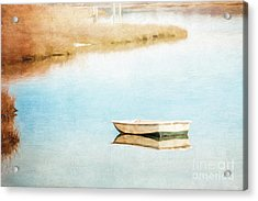 Dinghy In Eastham Acrylic Print