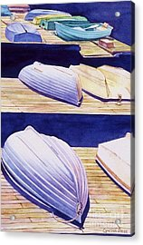 Dinghy Lines Acrylic Print