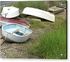 Dinghy Acrylic Print by Peter Williams