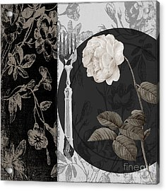 Dinner Conversation I Acrylic Print by Mindy Sommers