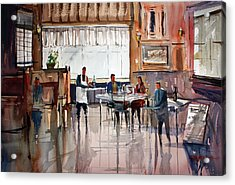 Dinner For Two Acrylic Print by Ryan Radke