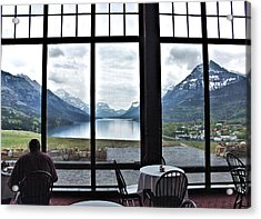 Dinner With A View Acrylic Print