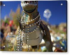 Dino Diva Acrylic Print by DRK Studios