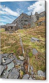 Dinorwic Quarry Ruins Acrylic Print