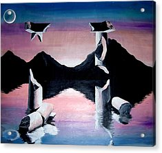 Diochotimies Acrylic Print by Randall Easterling