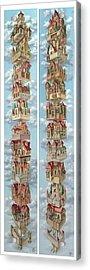 Diptych Air Castles Acrylic Print
