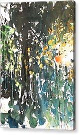 Diptych No11 Left Acrylic Print by Sumiyo Toribe