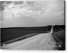 Acrylic Print featuring the photograph Dirt Road by Sandy Adams