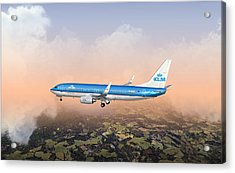 Dirty 737ng 28.8x18 Acrylic Print