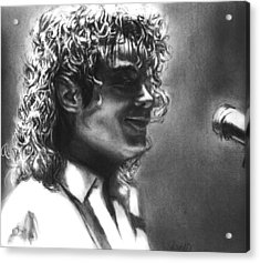 Dirty Diana Acrylic Print