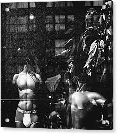Dirty Mannequins Acrylic Print by Dylan Murphy