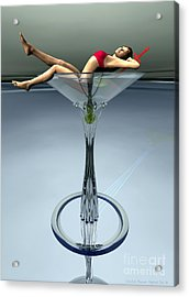 Dirty Martini Acrylic Print