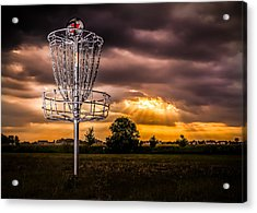 Disc Golf Anyone? Acrylic Print