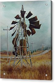 Discarded Along The Road Acrylic Print by Marcus Moller