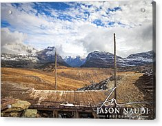 Discover Acrylic Print by Jason Naudi