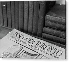 Discover Toronto Acrylic Print