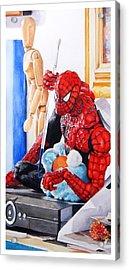 Discovered Acrylic Print by Debra Jones