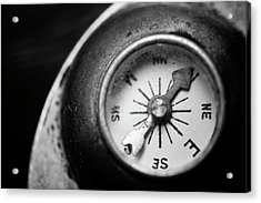 Discovering My Compass Acrylic Print