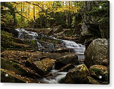 Discovery Falls Autumn Acrylic Print