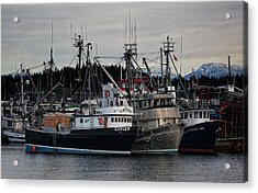 Acrylic Print featuring the photograph Discovery Harbour by Randy Hall