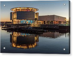 Acrylic Print featuring the photograph Discovery World by Randy Scherkenbach