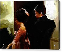 Discreet Whisper Acrylic Print by Stuart Gilbert