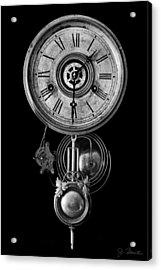 Disembodied Time Acrylic Print by Joe Bonita