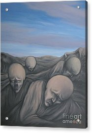 Acrylic Print featuring the painting Dismay by Michael  TMAD Finney